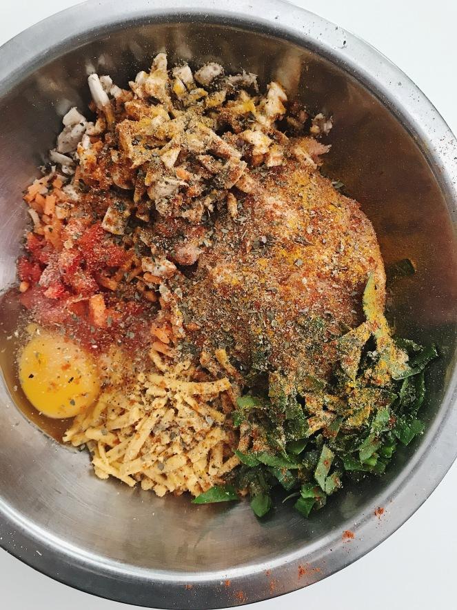 Turmeric Turkey meatballs.JPG